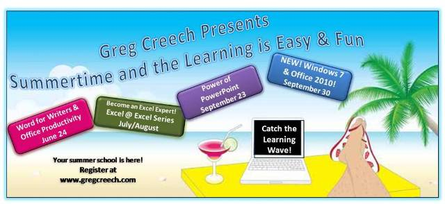 Summertime and the Learning is Easy and Fun!